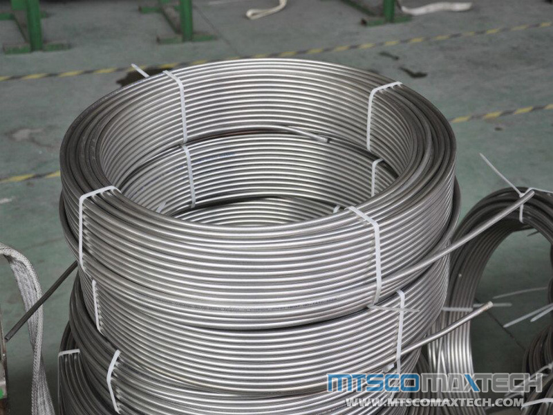 A269 TP316Ti 25.4mm Bright Annealed Coiled Tubing Stockist, CT-1-0012