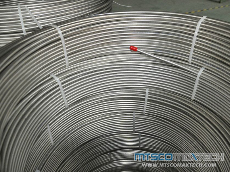 Supplier of Stainles Steel Instrument Coiled Tube ASTM A213 304L, CT-1-0003