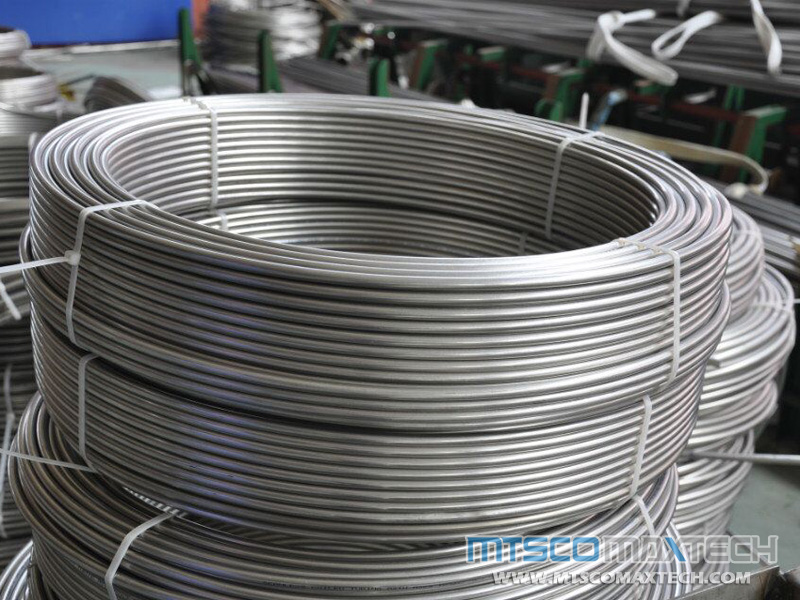 Coiled Tubing Sizes : Stainless steel small sizes long coil tube astm a