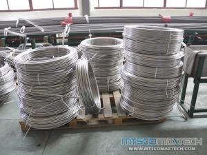 1/4 inch Stainless Steel ASTM A269 Seamless Tubing In Coil with no Joints