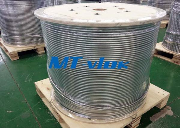 1/4 In Sch10s TP316 Stainless Steel Coiled Tubing Welded for Oilfield