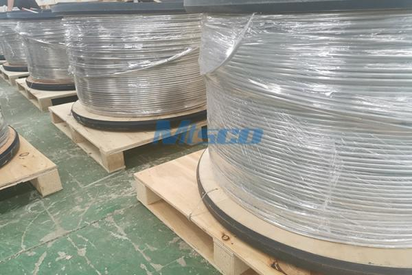 1/4 In TP316/316L Stainless Steel Coiled Tubing, Control Line For Oilfield