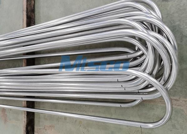 ASTM A213 TP304L 3 / 8In Stainless Steel U Bend Tubing Cold Rolled For Heat Exchanger / Boiler
