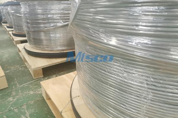 ASTM A269/ASME A269 TP304L/316L Welded Stainless Steel Coiled Tubing With BA Surface