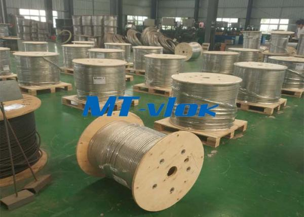Cold Rolled ASTM A269 316/316L SS Coiled Stainless Steel Tubing for Chemical Injection