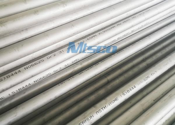 Nickel Alloy 625/UNS N06625 Heat Exchange Cold Rolled Tube For Pressure Vessel