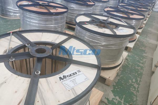 Stainless Steel Welded Control Line Coiled Tubing, ASTM A269/ASME A269 TP347H