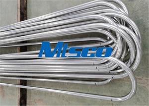 1 / 2 In Sch40 TP321 Stainless Steel U Tube Heat Exchanger Tube