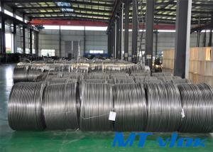 1 / 8 Inch TP304 / 304L Stainless Steel Welded Super Long Coiled Tube For Food Industry