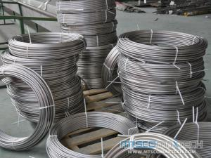 304/316/321/310S ASTM A213/A269 Stainless Steel Coiled Tube Seamless