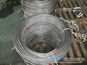 ASTM A213 TP304 12.7MM Seamless High Precision Coiled Tubing