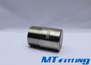 3 Inch ASTM A182 F347 Stainless Steel 2000LBS Round Head Plug With Treaded End