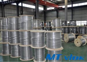 4.76mm 316L / 1.4404 Stainless Steel Welded Super Long Coiled Tube In Oil And Gas