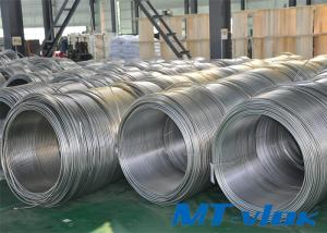 9.53mm TP304L / 316L Stainless Steel Welded Super Long Coiled Tubing For Medicine Industry