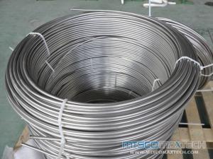 Stainless Steel Seamless Instrument Coiled Tube 1/2 inch TP316L Bright Annealed