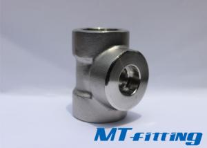 ASME B16.11 F304L / F316L Stainless Steel Socket Welded / Threaded Tee