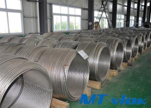 ASTM A213 / A269 S30400 / S31600 Stainless Steel Welded Super Long Coiled Tube