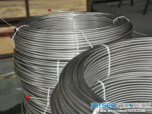 ASTM A269 TP316L Bright Annealed Seamless Coiled Tubing