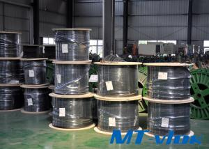 ASTM A269 / ASME SA269 Stainless Steel Welded Super Long Multi-core Coiled Tube For Marine