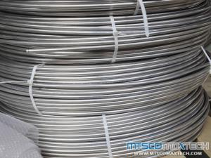 China Stainless Steel High Quality Coiled Tubing 1/8 inch 1/4 inch 1/2 inch TP304/TP316/TP321