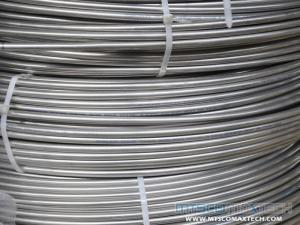 TP304 Control Line Tubing in Oil and Gas Well stainless steel ASTM standard