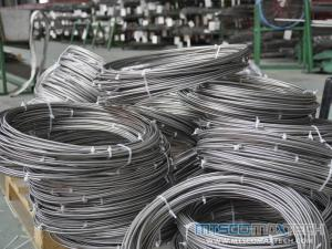 ASTM A269/A213 TP317L Bright Annealed Stainless Steel Tubing In Coil