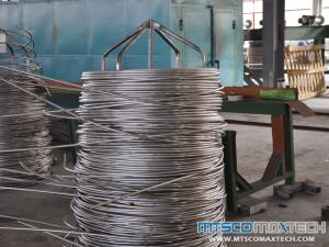 Small Diameter Seamless TP304L Stainless Steel Coiled Tube