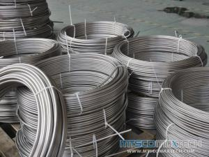 Stainless Steel ASTM A269 TP316L Bright Annealed Seamless Heat Coiled Tubing