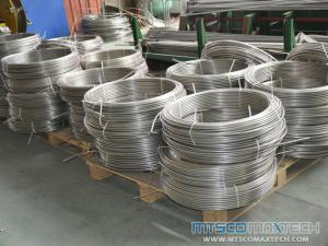 Stainless Steel Heating Coiled Tubing in Radiant Floor Heating System