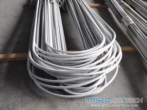 Stainless Steel U Bend Tube EN10216-5 TC2 D4 1.24MM, 1.65MM, 2.11MM
