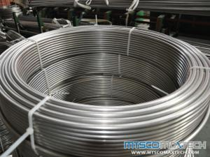 TP304L Bright Annealed Coiled Tubing, BA Coiled Tube
