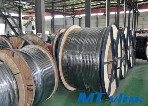 TP304 / 304L Welded Stainless Steel Coiled Tubing For Multi-core Tube