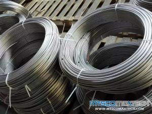 TP316L/304L ASTM A213 Bright Annealed Seamless Precision Tubing In Coil