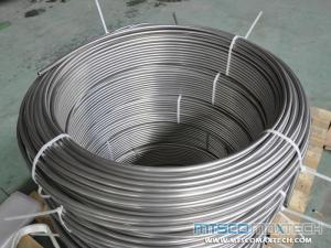 ASTM A213 TP316L Seamless Stainless Steel Control Line Coil Tube Supplier