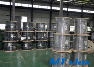 TP316L / S31603 Stainless Steel Welded Super Long Multi-core Coiled Tube For Marine