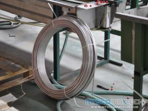 TP316 1/2 inch ASTM A269 Seamless Stainless Steel Coil Tube with no Joints