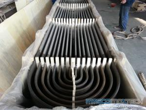 TP347H Stainless Steel U Bend Tube for Heat Exchanger 19.05 X1.65MM
