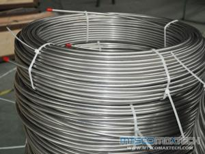 TP347 Bright Annealed Stainless Steel Coiled Tubing