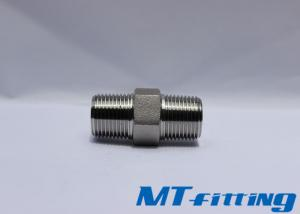 Threaded End F347 Stainless Steel Hex Nipple 2000LBS Forged High Pressure Pipe Fitting