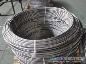 WT 0.035 inch Long Seamless Coiled Tube in Boiler and Heat exchanger